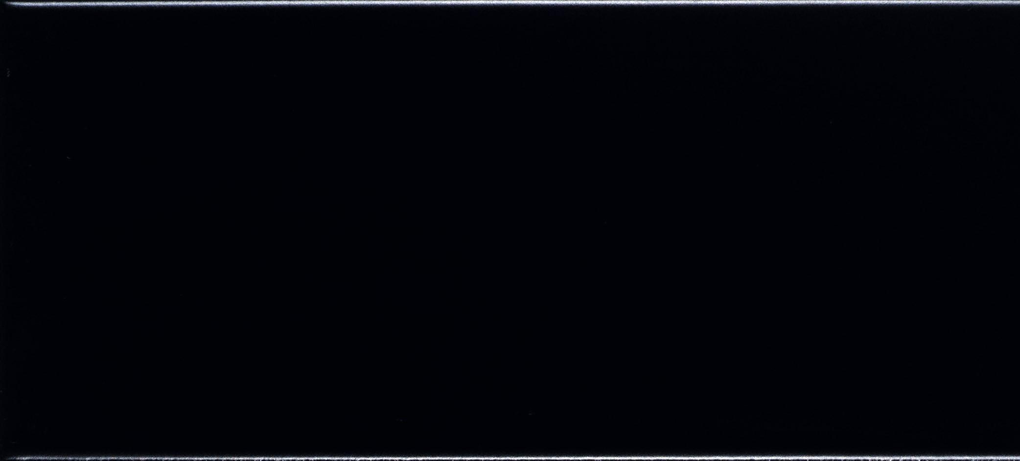 Wandtegels mat zwart 10×20 ongerectificeerd