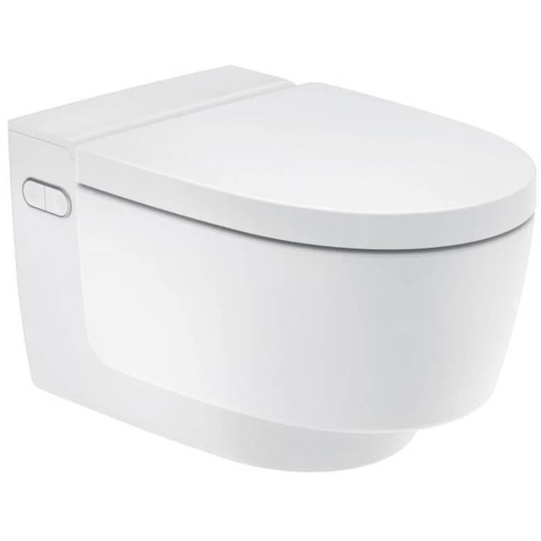 Geberit AquaClean Mera Douche wc met geurafzuiging en ladydouche wit