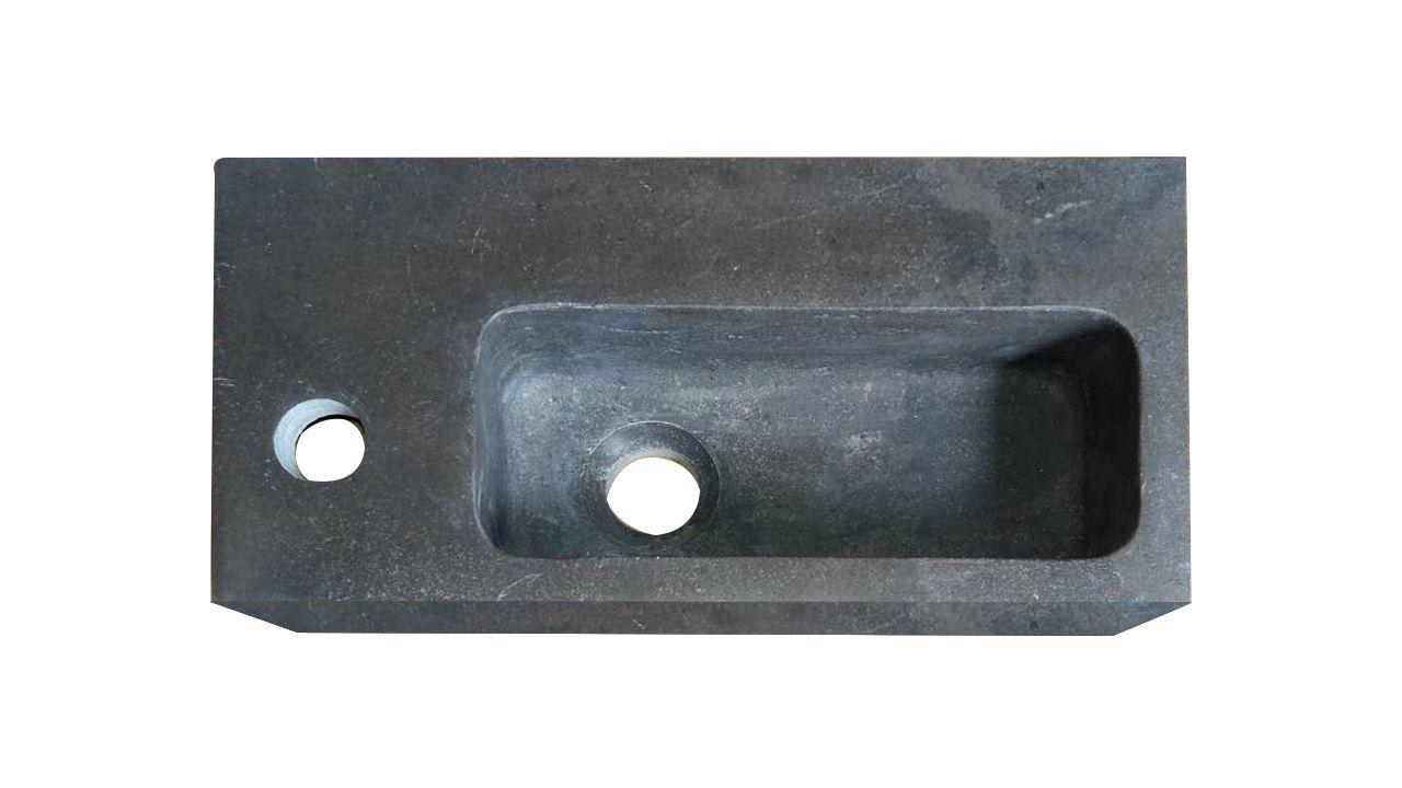Best Design Lopez Leisteen fontein met kraangat links 40x20x10cm