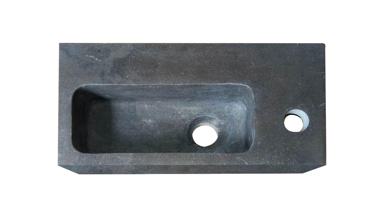 Best Design Lopez Leisteen fontein met kraangat rechts 40x20x10cm