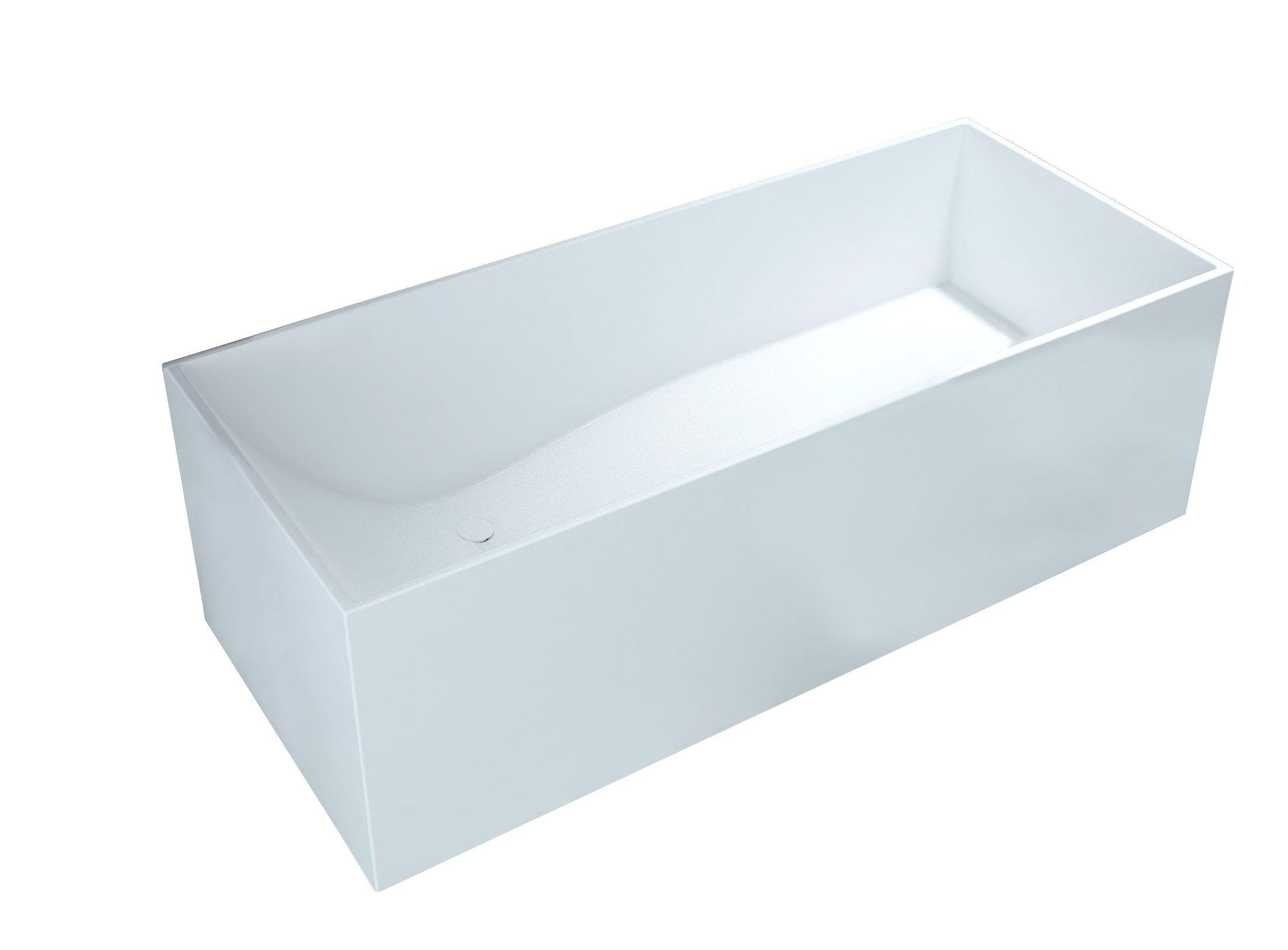 Best Design Experience solid surface vrijstaand bad 170x72x55cm mat wit kopen doe je voordelig hier