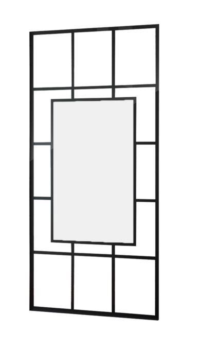 Best Design Black Invisible inloopdouche 100x200cm Zwart