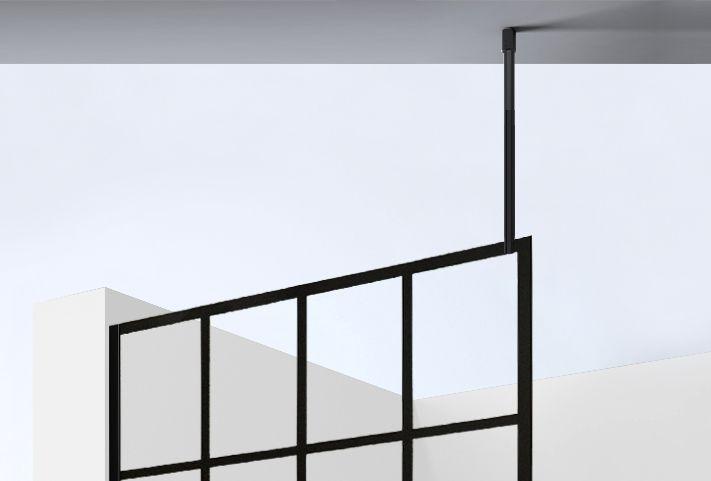 Best Design plafond stabilisatiestang 100cm zwart