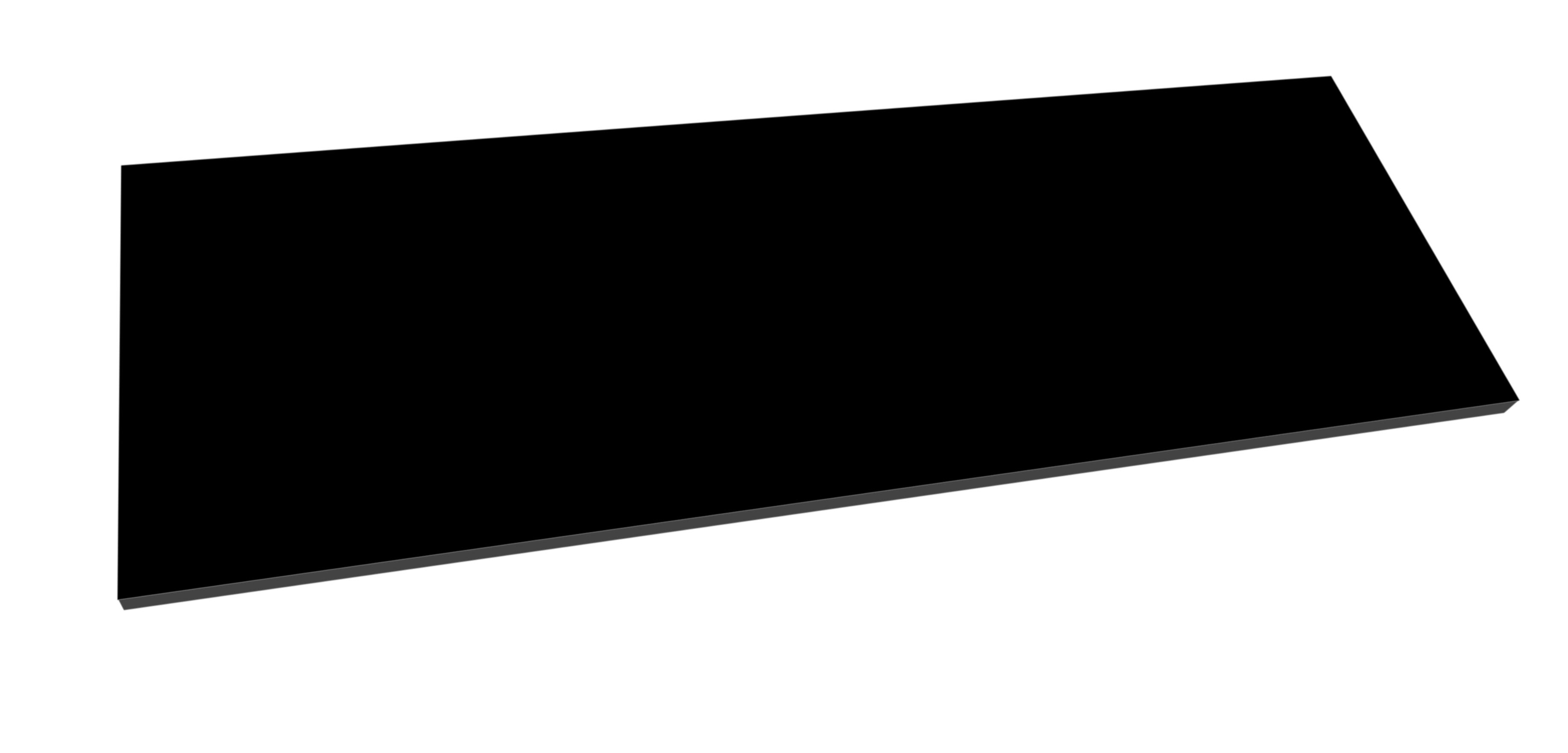 Best Design meubelblad zwart voor badkamermeubel beauty
