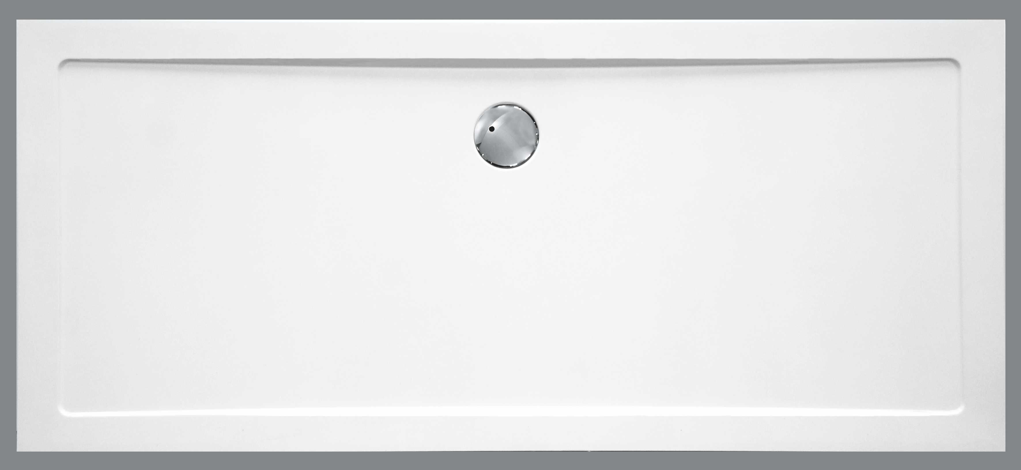Badstuber Tris douchebak rechthoek SMC 140x90cm