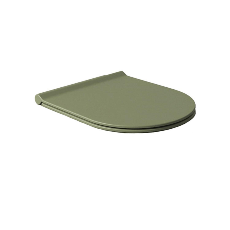 Salenzi Form Slim toiletzitting mat legergroen