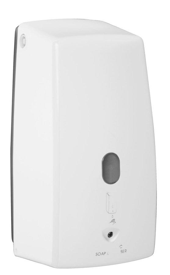 Aqualine automatische zeepdispenser 500ml wit