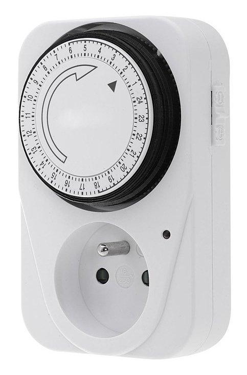 Aqualine elektrische tijdschakelaar 24uur - 1 stand