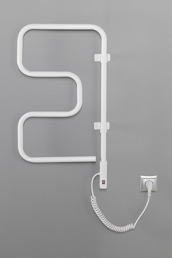 Aqualine Elvor elektrische radiator 40x75cm wit