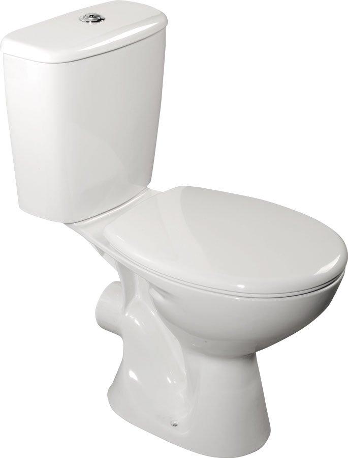 Aqualine Juan toilet zonder zitting wit