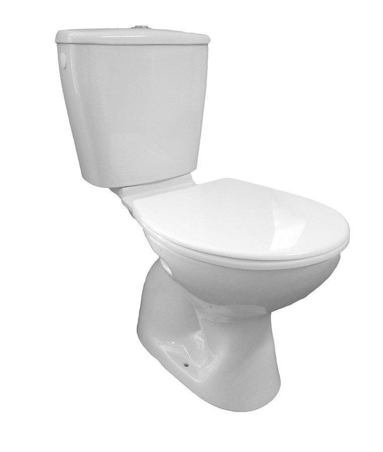 Aqualine Miguel toilet zonder zitting wit