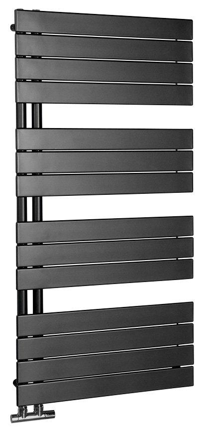 Aqualine Mili radiator antraciet 60x122cm 632W