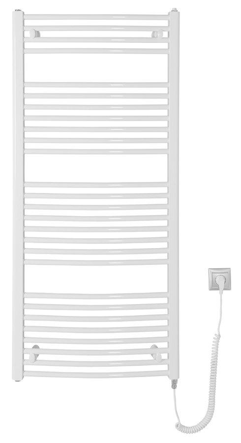 aqualine Orbit elektrische radiator wit 60x132cm 600W