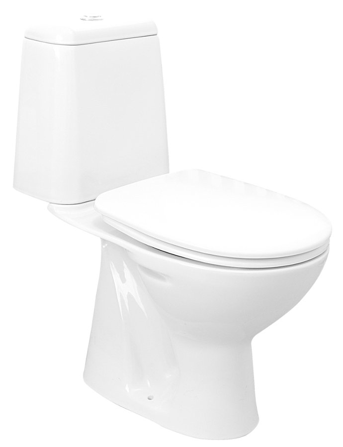 Aqualine Riga toilet zonder zitting wit AO