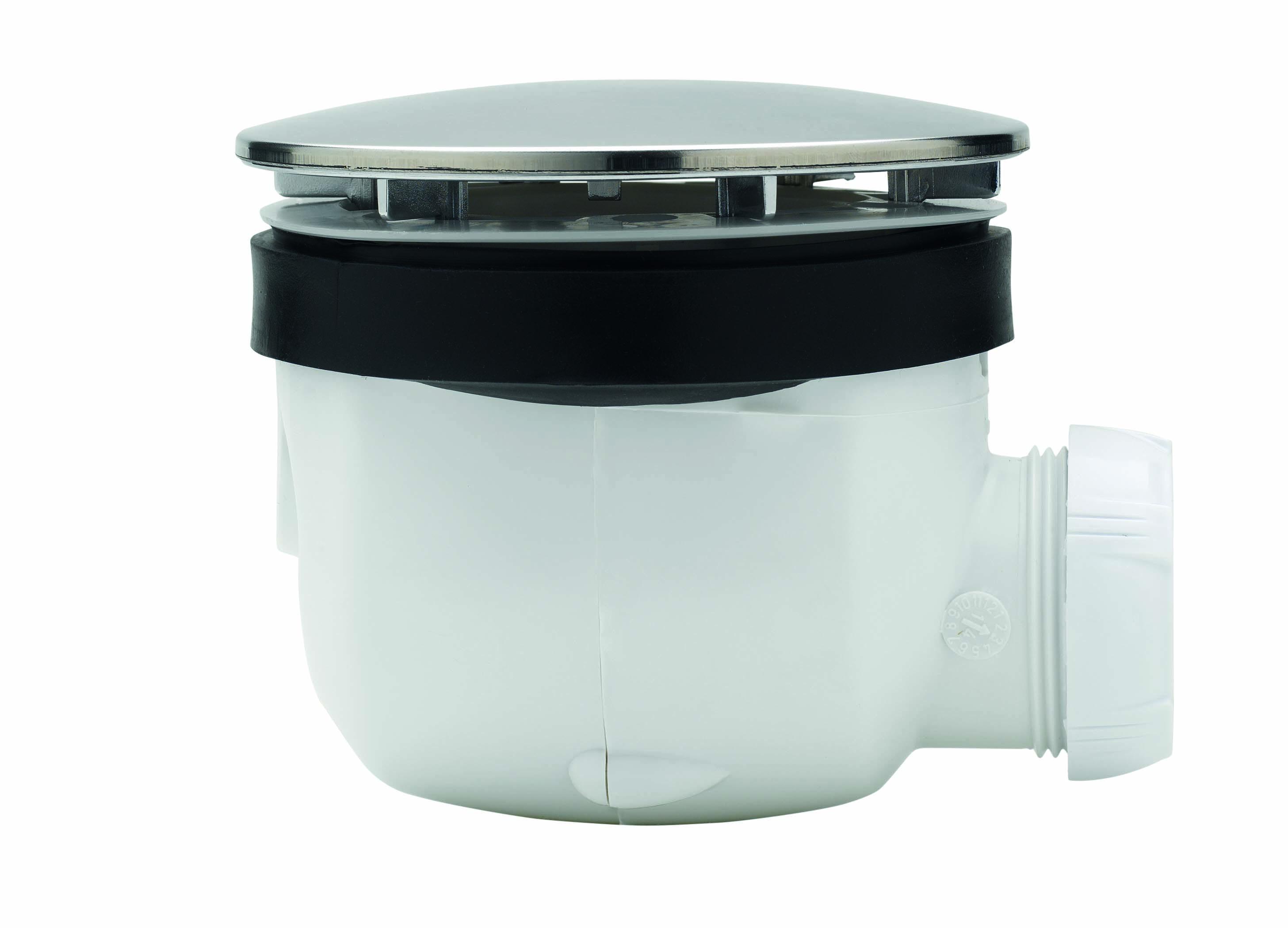 Aqualux Aqua 25 Sphere douchebak sifon chroom