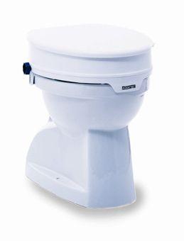 Aquatec 90 toiletverhoger met deksel wit