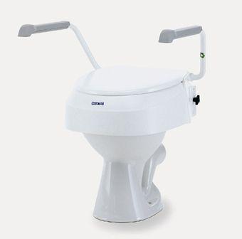 Aquatec 900 toiletverhoger zonder armleuningen wit
