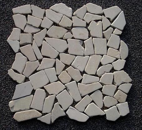 B-Stone Crema Marble 3 mozaik 30,5x30,5cm