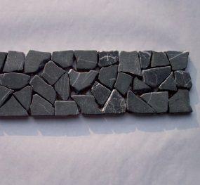 B-Stone Marquina Marble 8 mozaik 30x8cm