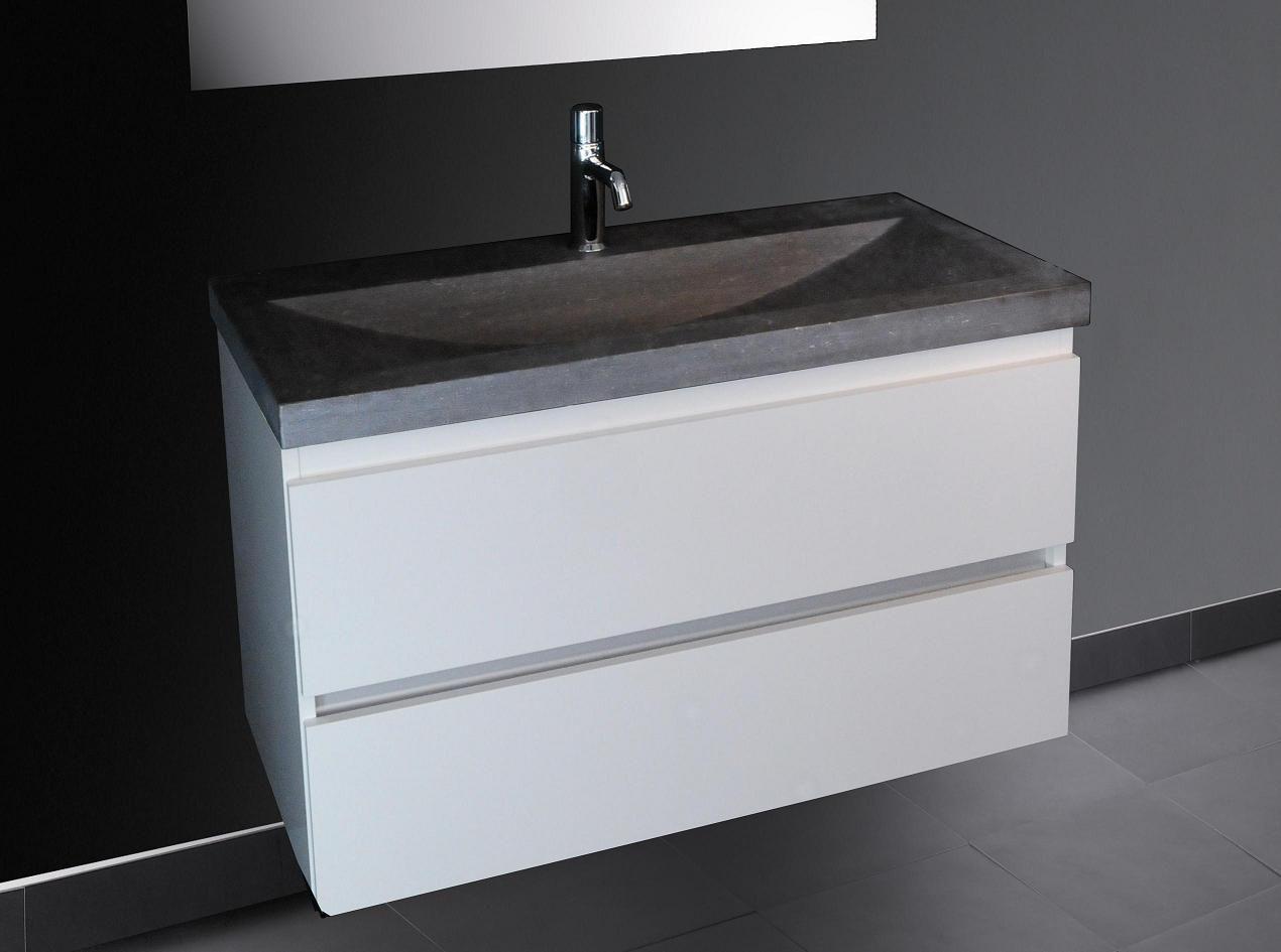Badkamer producten.nl b stone stirling badkamermeubel 100cm