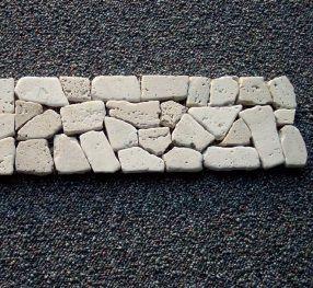 B-Stone Travertino 10 mozaik 30x8cm