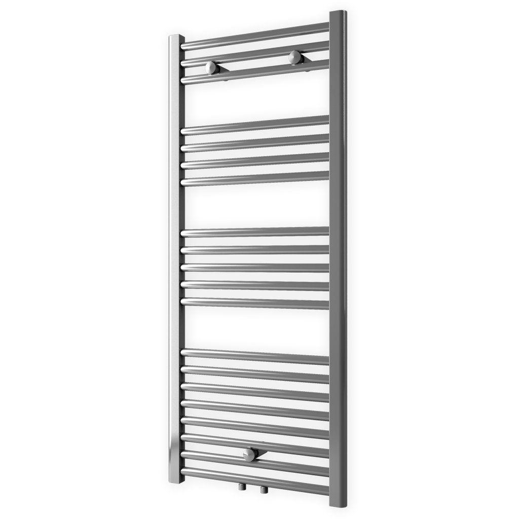 Badstuber Bari haddoek radiator 160x60cm chroom midden-aansluiting