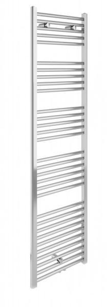 Badstuber Bari haddoek radiator 178,5x60cm chroom midden-aansluiting