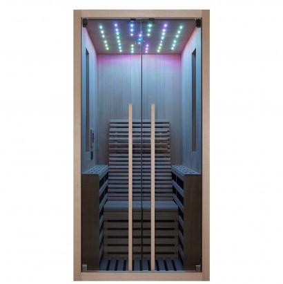 Productafbeelding van Badstuber Carbon infrarood sauna 100x130cm 1 persoons