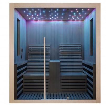 Productafbeelding van Badstuber Carbon infrarood sauna 180x150cm 2 persoons