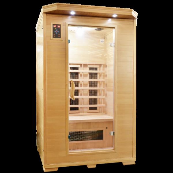 Productafbeelding van Badstuber Carmen 2 infrarood sauna 120x120cm 2 persoons