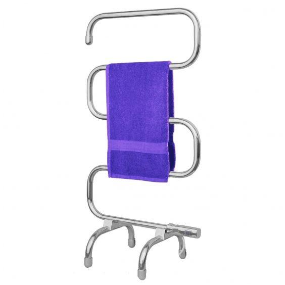 Badstuber Elec vrijstaande elektrische handdoek radiator chroom