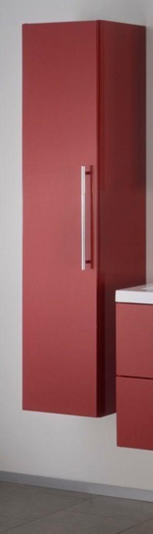 Badstuber Fiora badkamerkast 150x35x35cm rood