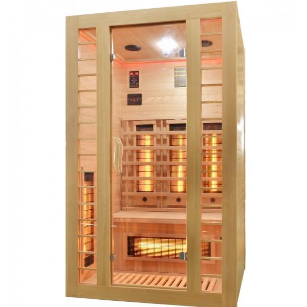 Productafbeelding van Badstuber Fresh infrarood sauna 120x105cm 2 persoons