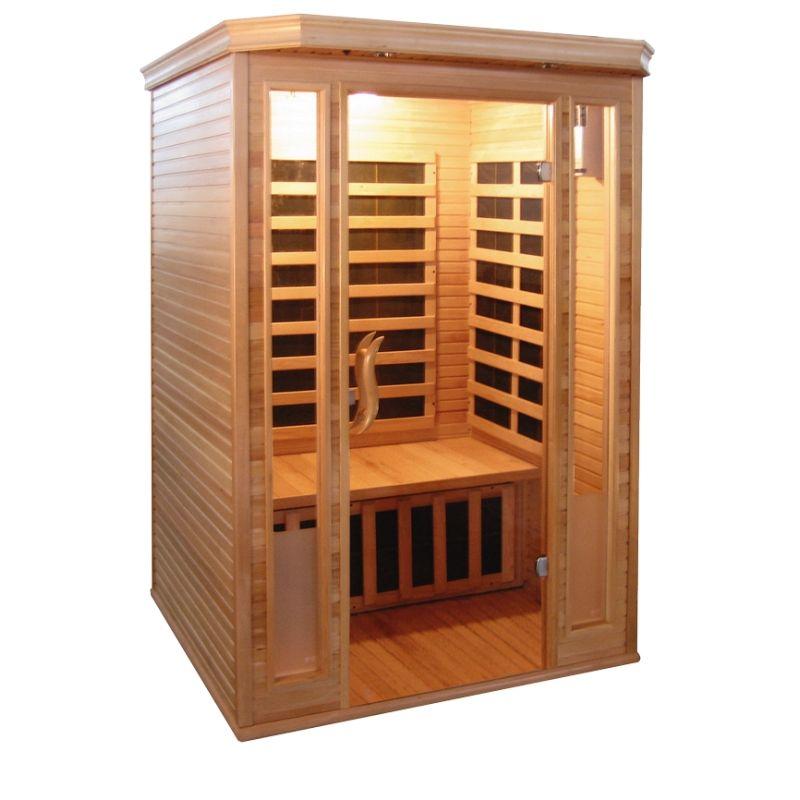 2 persoons infrarood sauna kopen online internetwinkel. Black Bedroom Furniture Sets. Home Design Ideas