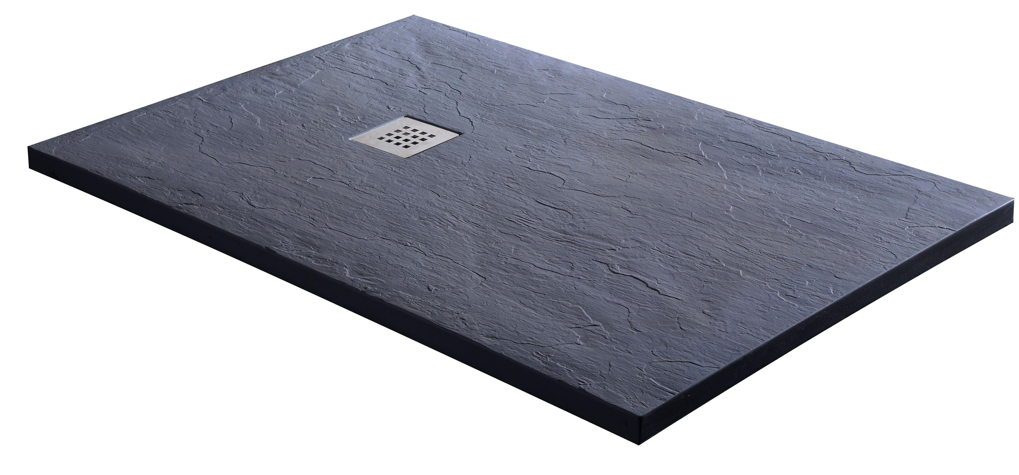 Badstuber Kreta marmer douchebak 120x80x3,2cm rechthoekig