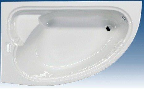 Badstuber London hoekbad 165x95cm links wit kopen doe je voordelig hier