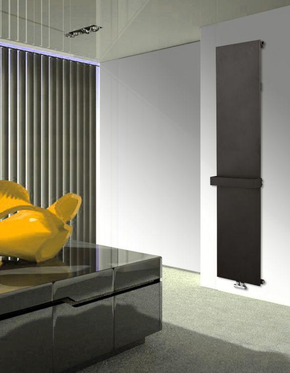 Badstuber Neustadt plaat radiator 180x45cm antraciet 742 Watt