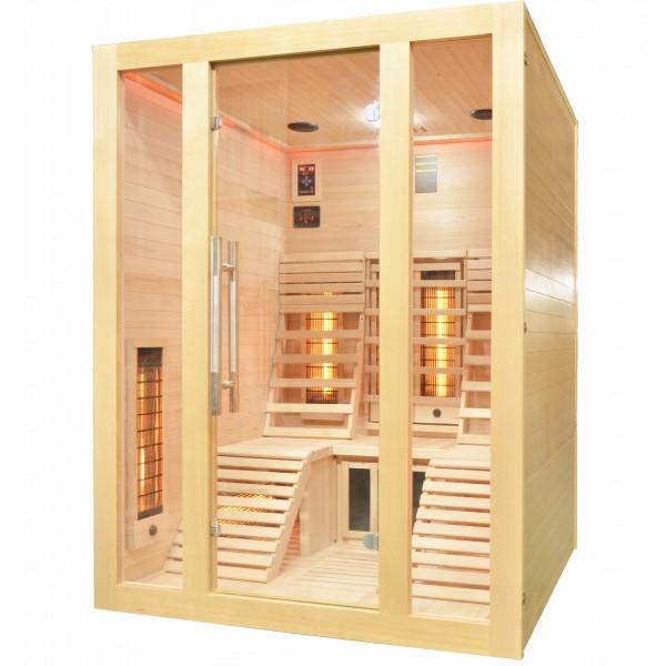 Productafbeelding van Badstuber Oslo infrarood sauna 150x150cm 2 persoons