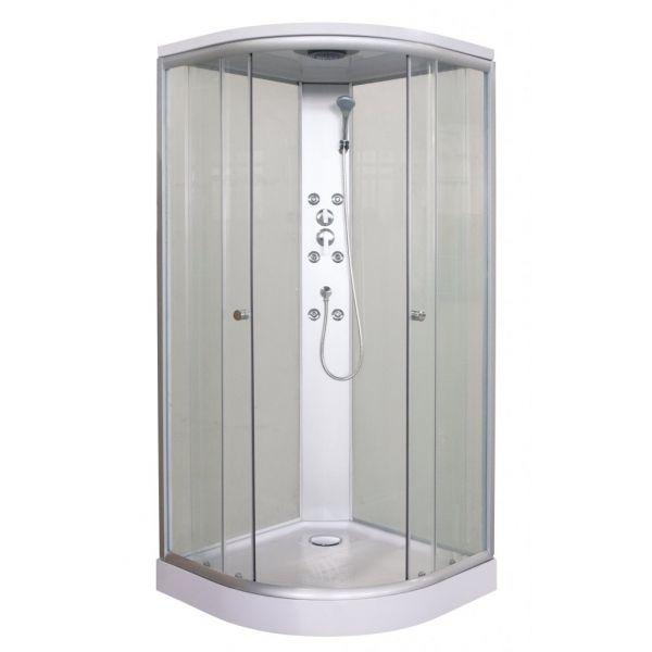 Doe het zelf sanitair complete douchecabine - Italiaanse gesloten douche ...