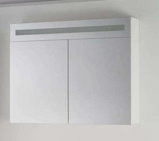 SHOWMODEL Badstuber Rave spiegelkast met LED verlichting 90x70cm