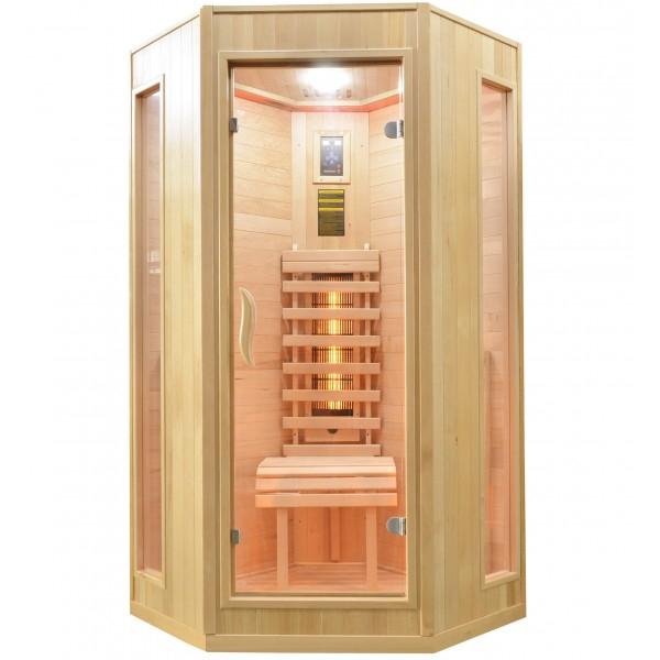 Productafbeelding van Badstuber Relax 2 infrarood sauna 100x100cm 1 persoons