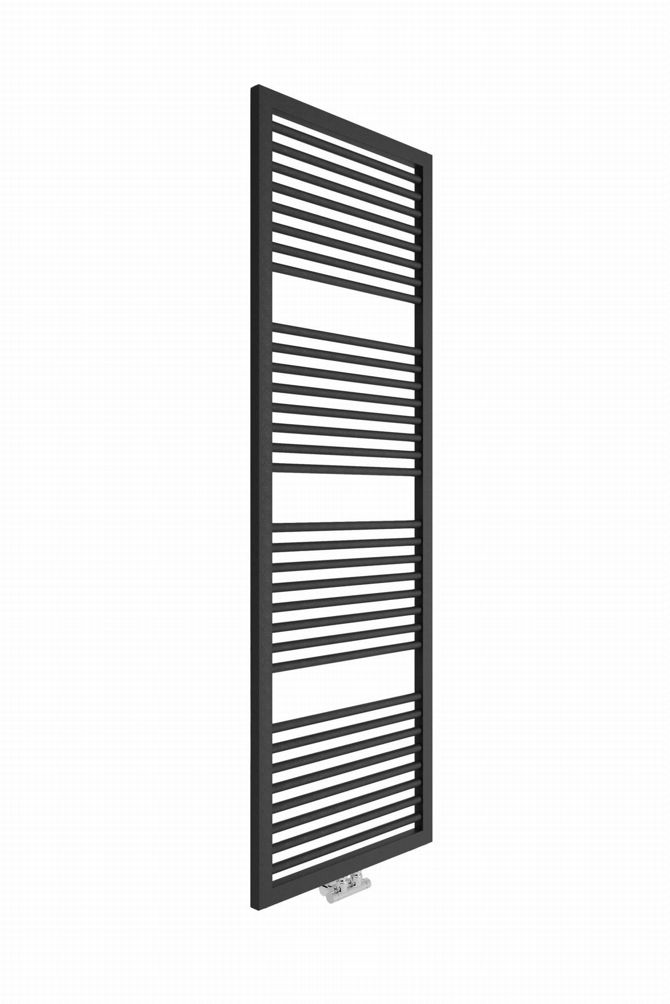 Badstuber Rimini design radiator 181.3x60cm antraciet 1007Watt