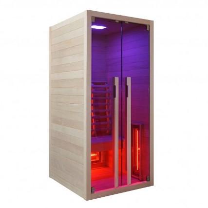 Productafbeelding van Badstuber Ruby infrarood sauna 90x100cm 1 persoons