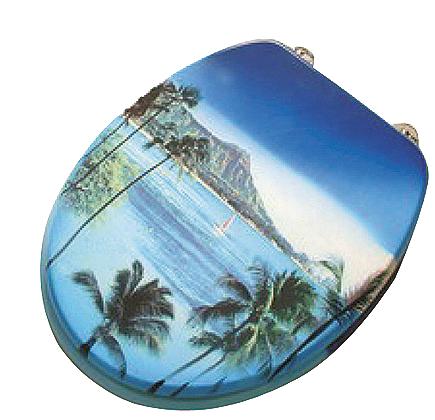 Badstuber Sea toiletbril oceaan achtergrond
