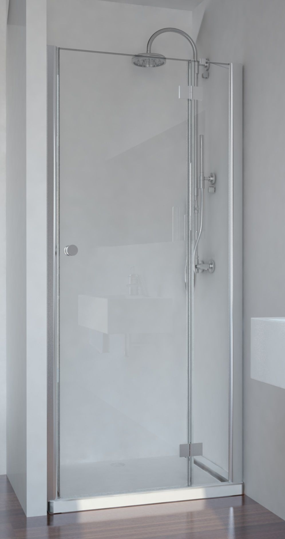 Badstuber Smart douchedeur 80x195cm rechts