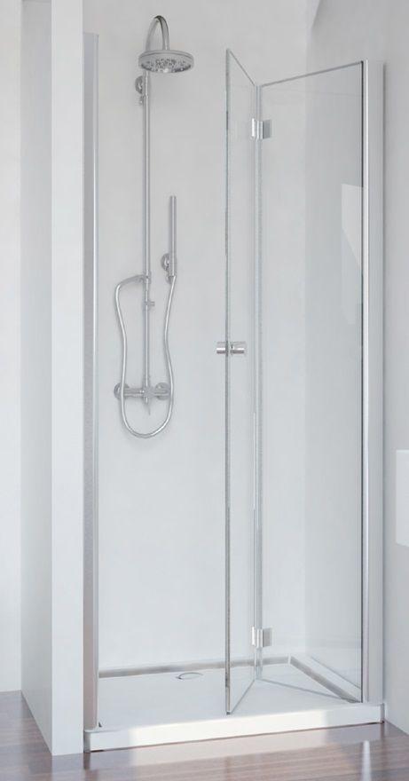 Badstuber Smart vouwdeur 90x195cm douchedeur rechts