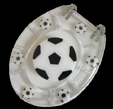 Badstuber Soccer toiletzitting met deksel