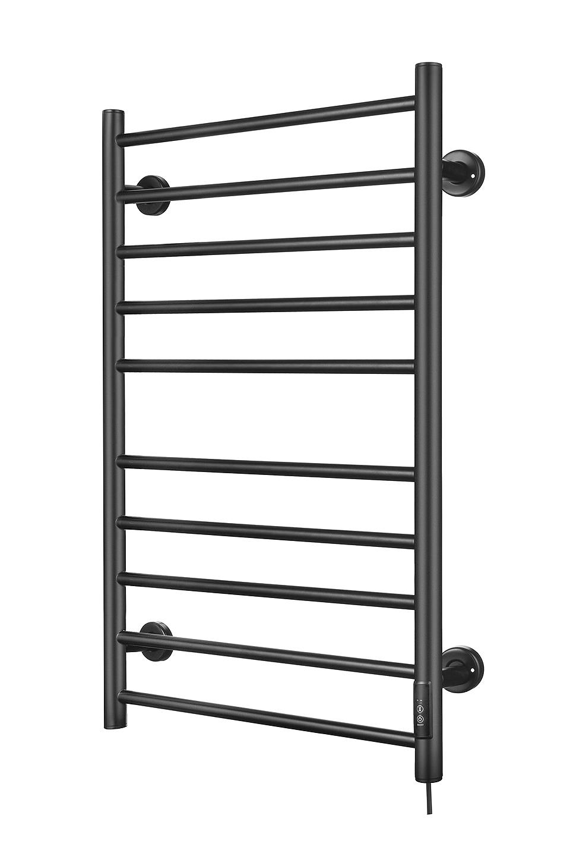 Badstuber Soho elektrische handdoek radiator 135Watt mat zwart