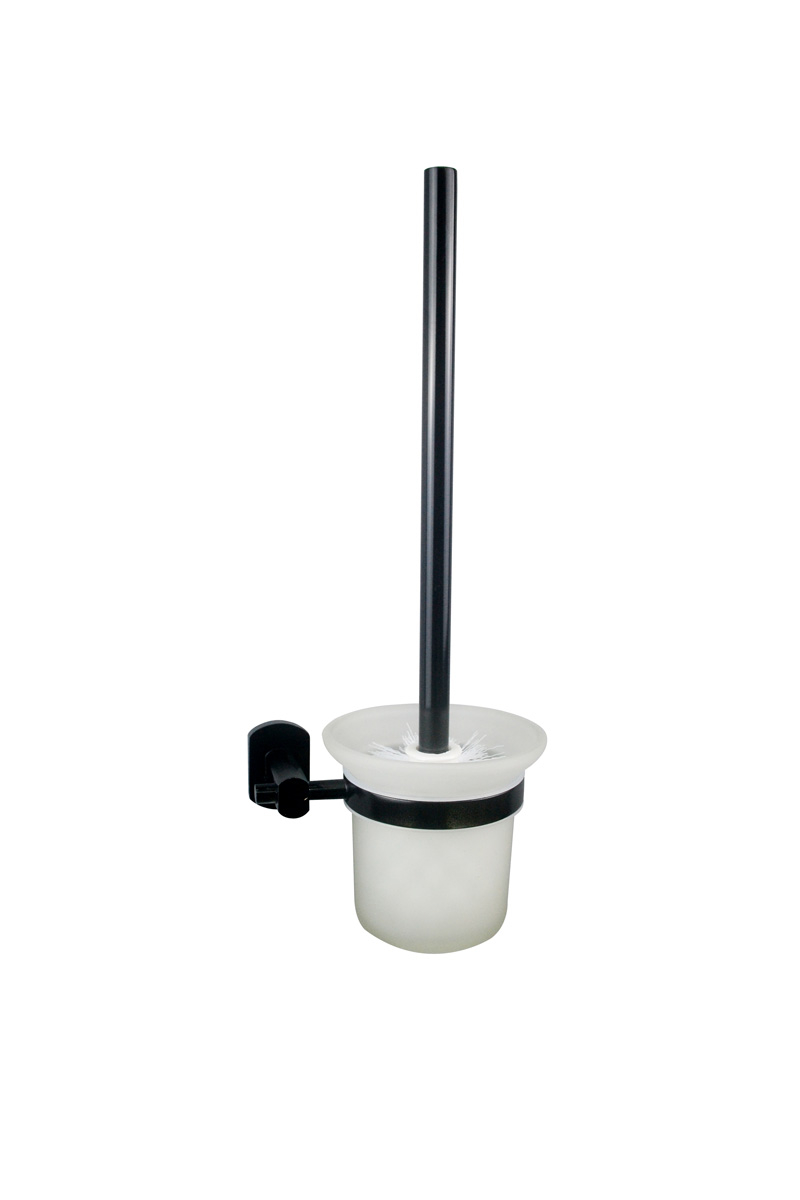 Badstuber Soho toiletborstel mat zwart