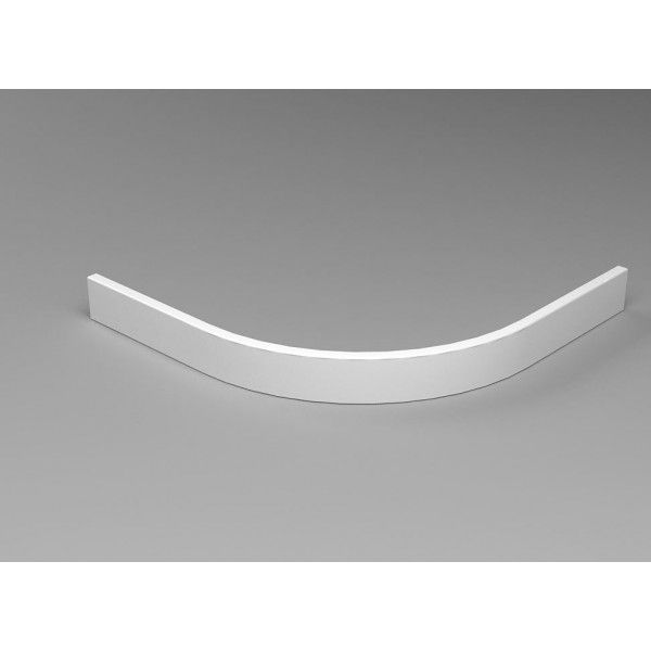 Badstuber Tris frontpaneel kwartrond 80x80x10cm